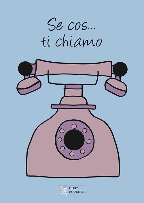 Agenda telefonica ideate e stampata a Piacenza da Printdifferent - Variante colore rosa
