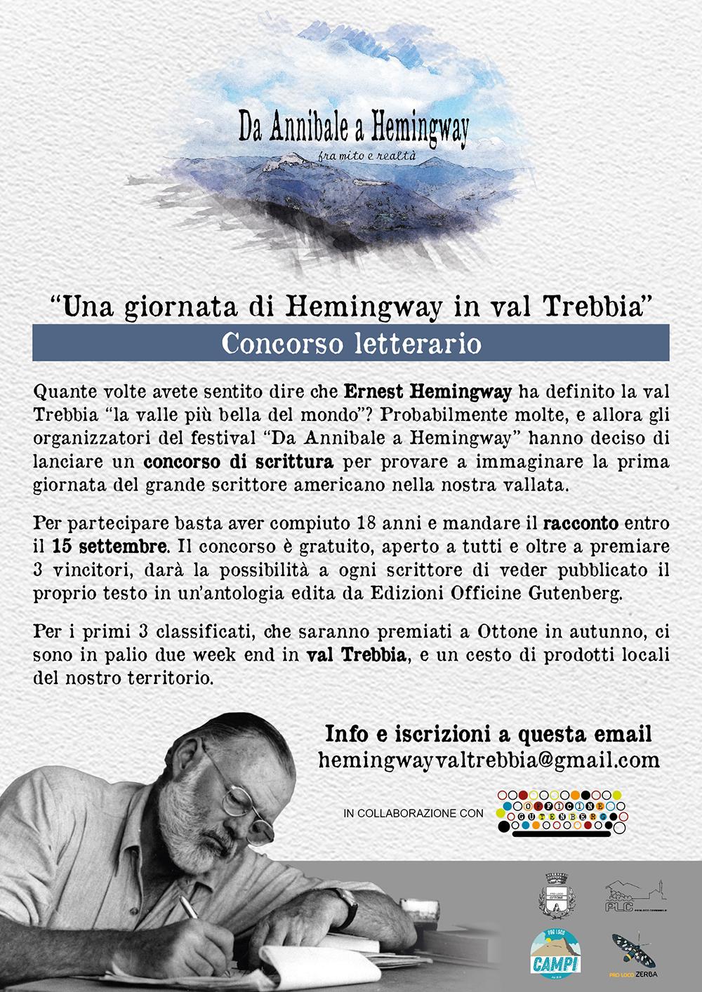 Read more about the article Hemingway e la sua giornata in val Trebbia