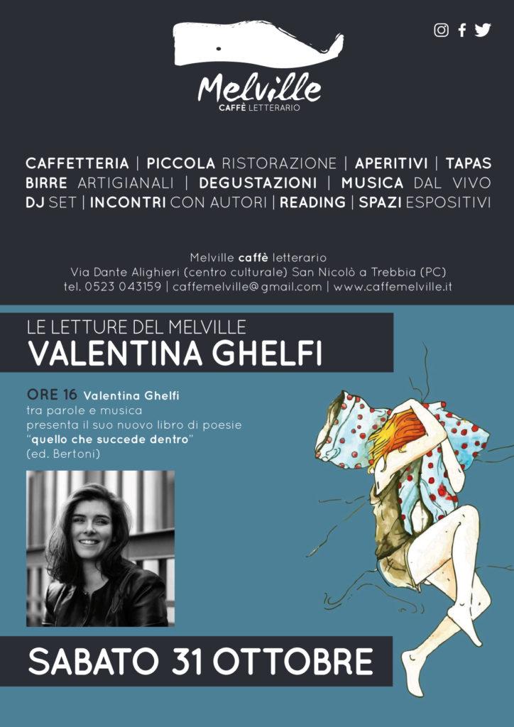 Valentina Ghelfi torna al Melville