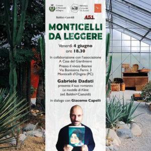 """Read more about the article Gabriele Dadati per """"Monticelli da leggere"""""""