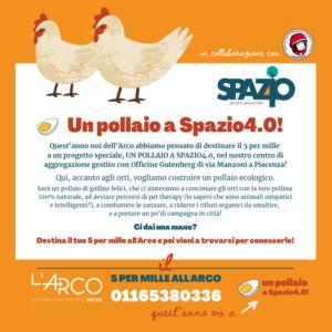 Un pollaio a Spazio4