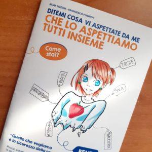Silvia Tizzoni e il suo libricino per genitori e figli in lotta con la pandemia