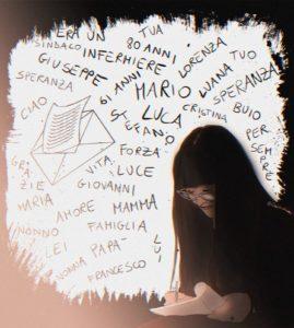 Martina Picca e il memoriale per chi ci ha lasciati
