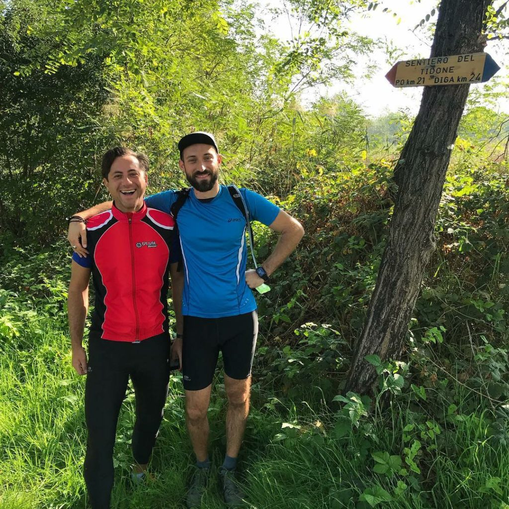 Riccardo Grandi, trail e lunghi tragitti: ecco un altro camminatore seriale!