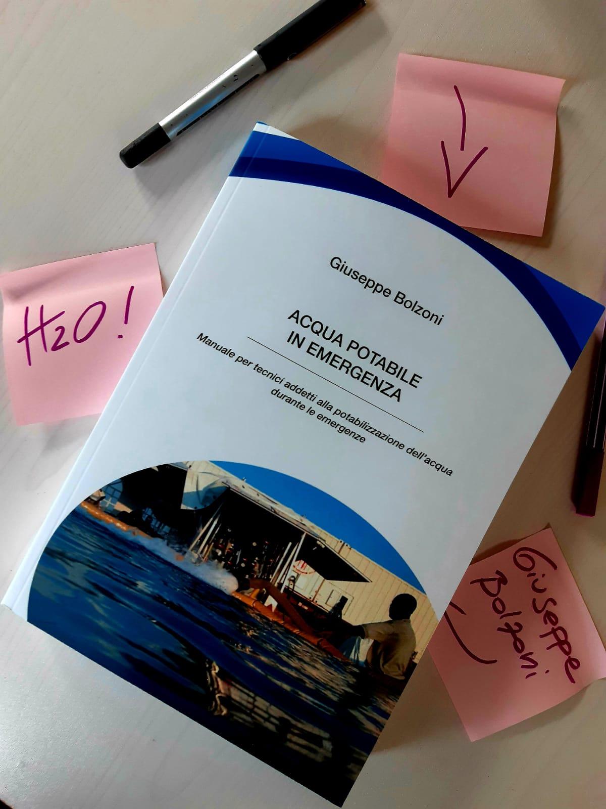 Read more about the article L'acqua potabile diventa libro con Giuseppe Bolzoni