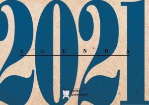 Agenda 2021 settimanale A6 – Anno Blu