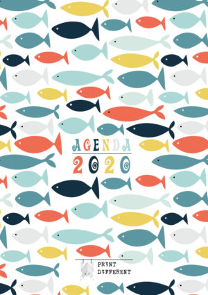 Agenda Sardine 2020 settimanale A5