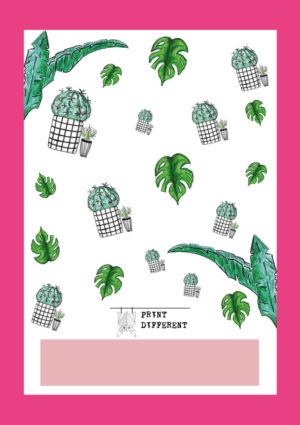 Quaderno cactus