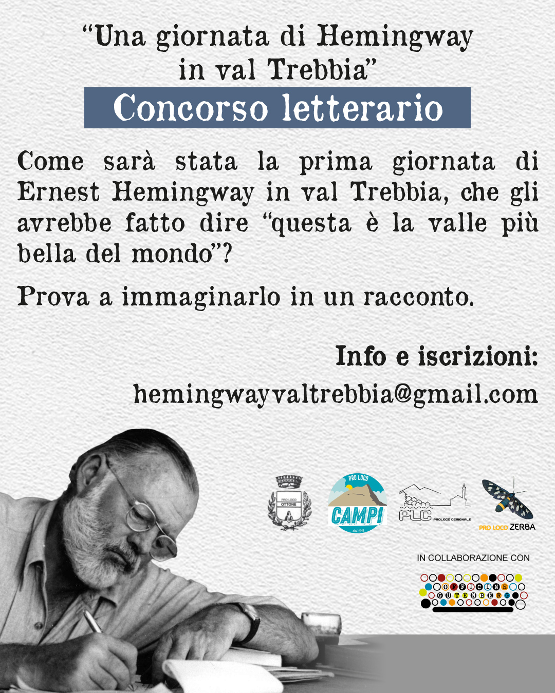 Read more about the article Hemingway in val Trebbia