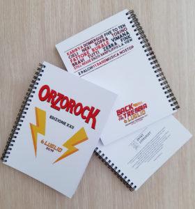 Anche Orzorock ha la sua limited edition Print Different!
