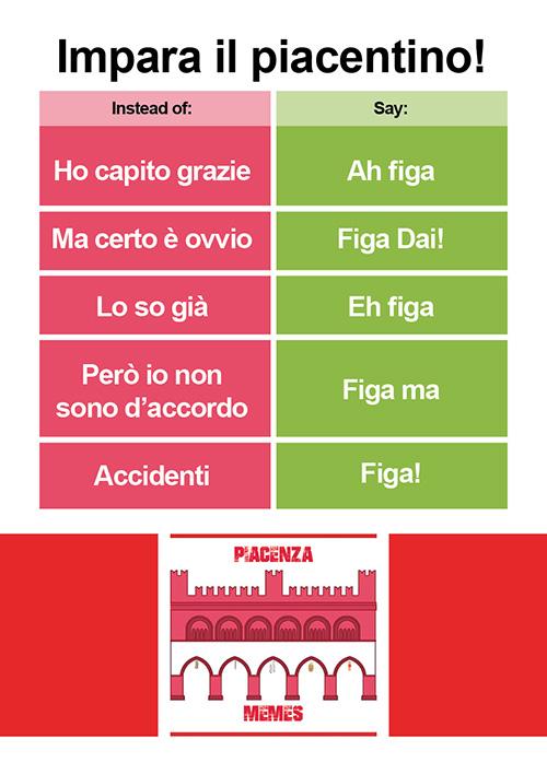 Quaderno Piacenza Memes