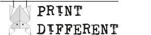 Logo di Print Different - Cartoleria personalizzata